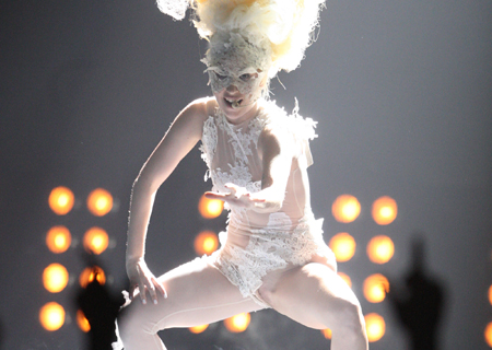 gaga brit awards